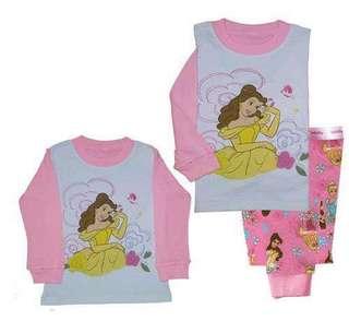 BN Bella princess cotton pj pyjamas 1-2yrs old , 2-3yrs old