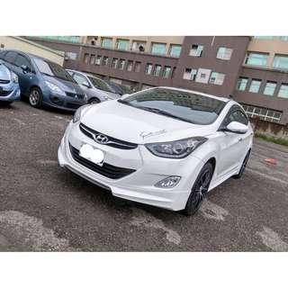 【2012年 ELANTRA 頂級 白色 有包】FB搜尋:【KV好車居】   中古車二手車