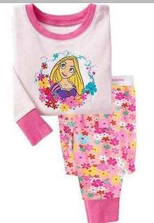 BN Rapunzel princess cotton pj 2-3yrs old , 3-4yrs old