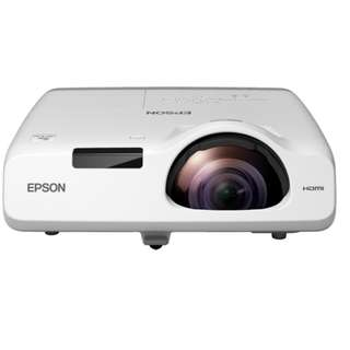 EPSON projector EB-535W 3,400lm WXGA 3.7kg desktop ultra-short focus P/O