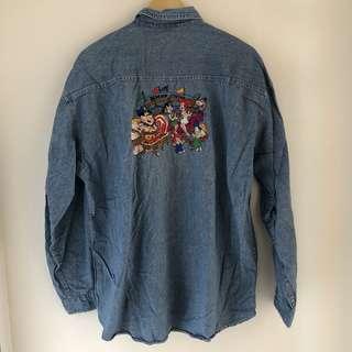 The vintage flintstone shirt
