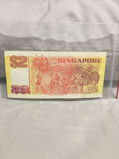 Old sgd$2 note