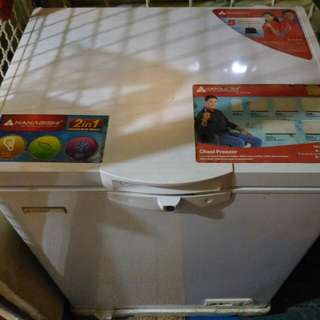 hanabishi chest freezer
