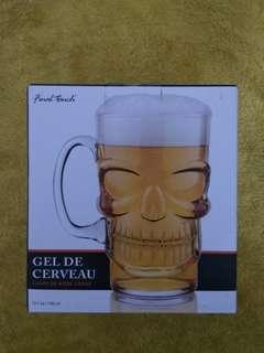 Skull Shaped Beer Mug