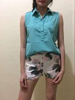 1 set atasan dan celana motif