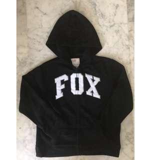 Original Fox Hooded Full-zip Fleece Jacket
