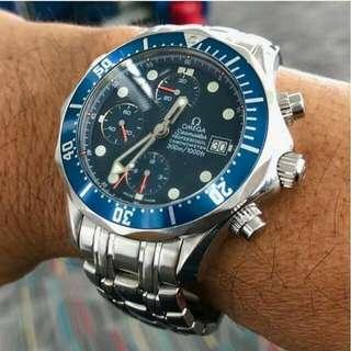👉PRE💖 - OMEGA Seamaster  #teAutomatic Chronograph