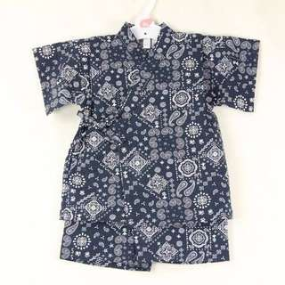 B.B. 日式浴衣 (嬰兒連身衣,和尚袍,紗巾)body suits, rompers ,日本製