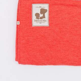 Solid Colour Riversible Pouch Baby Sling - Salmon/ Baby Purple size M