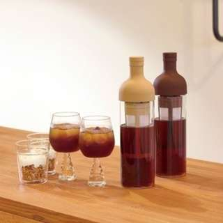 Hario Filter-In Cold Brew Coffee Bottle (Chocolate Brown, 650ml)
