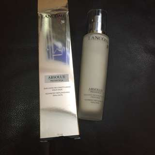 Lancome Absolue premium bx emulsion 75 ml.