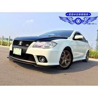FB搜尋【桃園小翔】三菱FORTIS 1.8L 2011年 全省最嚴格的售後服務!