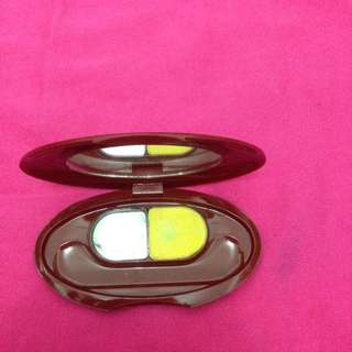Shiseido eyeshadow yellow ori