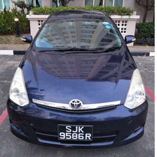 7 Seater Wish For Rent