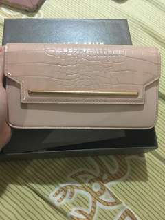 CHARLES & KEITH wallet in pink