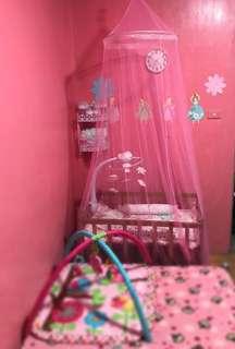 Mosquito net pink