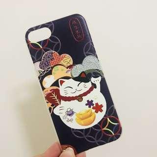 [iPhone 7 Case] 可愛招財貓 全新 塑料硬殼