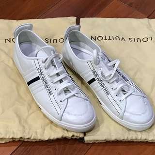 LV white sneakers