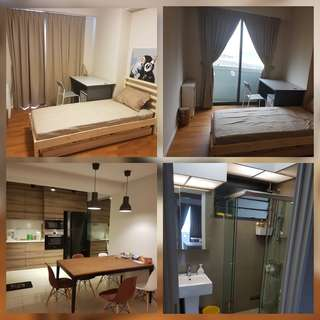 mins to Punggol Mrt. Clean furnished room with Balcony.Owner seldom at home