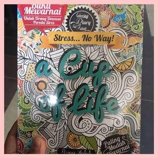 Coloring book FOR ADULT! NEW. MAAF TIDAK BISA DI NEGO