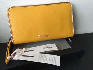 🚚 Repetto 黃色皮夾