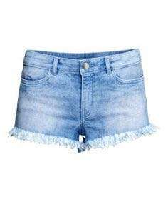 FREE MAIL! H&M distressed kids denim shorts