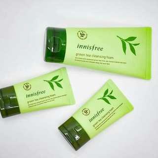 Innisfree Green Tea Foam Cleanser 30mL