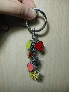 Fruit keychain!