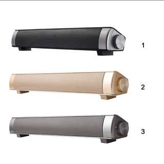 [Taking Order] Bluetooth Wireless Soundbar