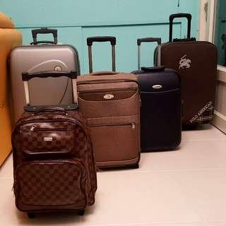🚚 九成新行李箱(登機箱)*數個 SIZE 20~28吋