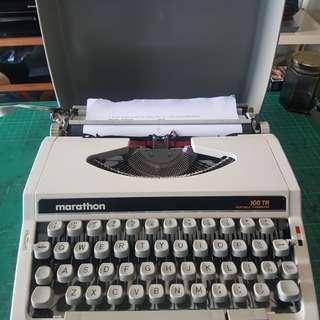 marathon typewriter