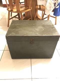 軍用木箱 擺設 復古