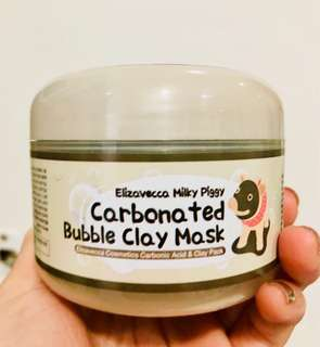 ELIZAVECCA  carbonated bubble clay mask off 100g