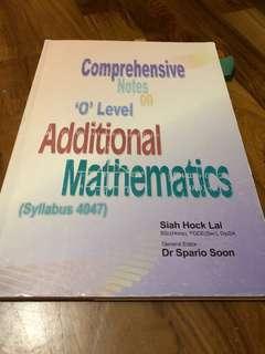 O level A math Notes