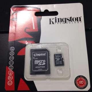128gb micro sd memory card kingston clas 10