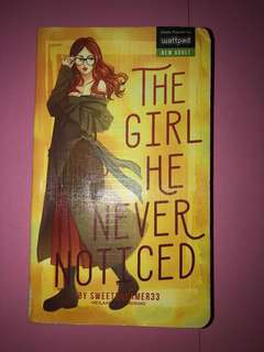 The Girl He Never Noticed (pop fiction books)