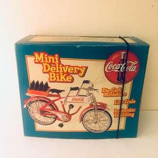 Coca Cola Mini Delivery Bike