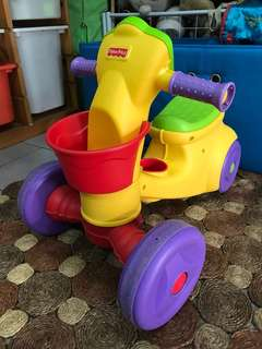 Fisher Price 'Brilliant Basics' Ready Steady Rider - Ride On Toy