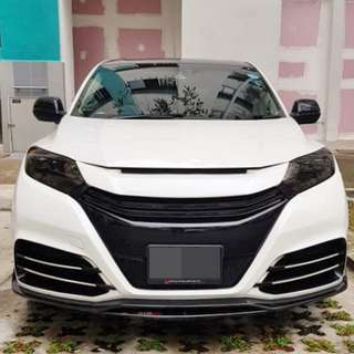 Installation Of Invisible Car Door Edge Bumper Guard Protector Done On Honda Vezel