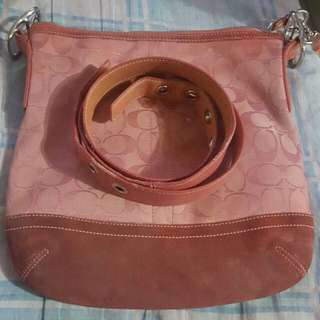 Coach poppy and coach sling bag(pink) + 100 for sf (lp posted) PINK SOLD