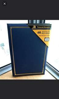 New 4R photo album Navy Blue