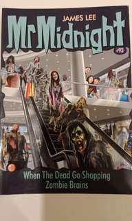 Mr. Midnight #93 when the dead go shopping zombie brains