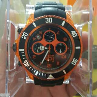 ICE WATCH CH.KOE.BB.S Orange face black strap