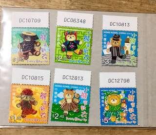 香港小熊郵票編號位