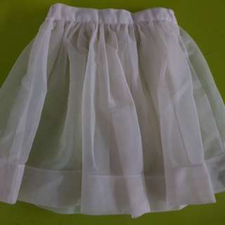 Ballet High Twist Chiffon skirt