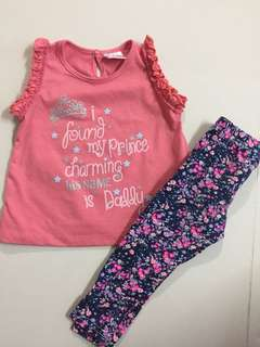 Tops & floral legging