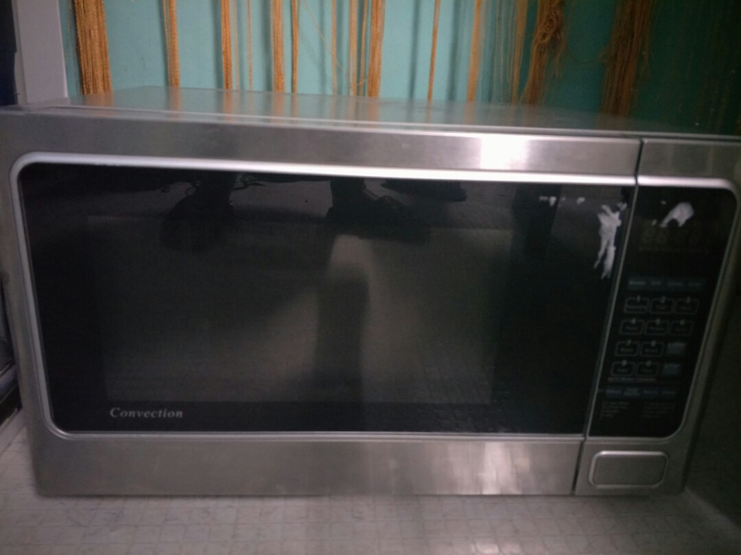 25L microwave convection oven