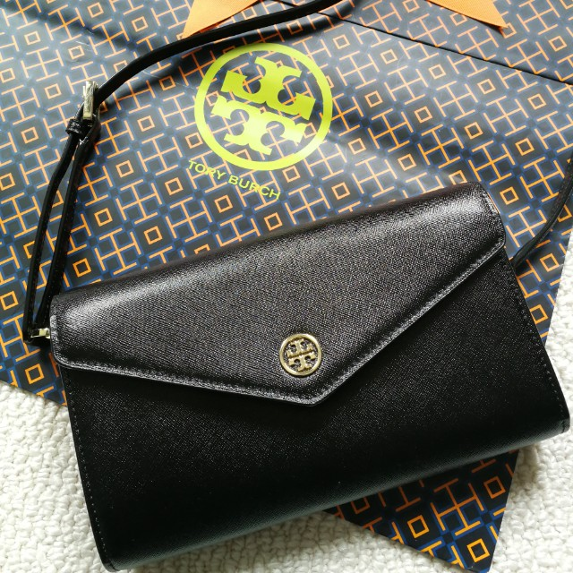 $508 NEW AUTHENTIC Tory Burch Robinson Expandable Concierge Clutch Crossbody Bag not Kate Spade Prada Purse