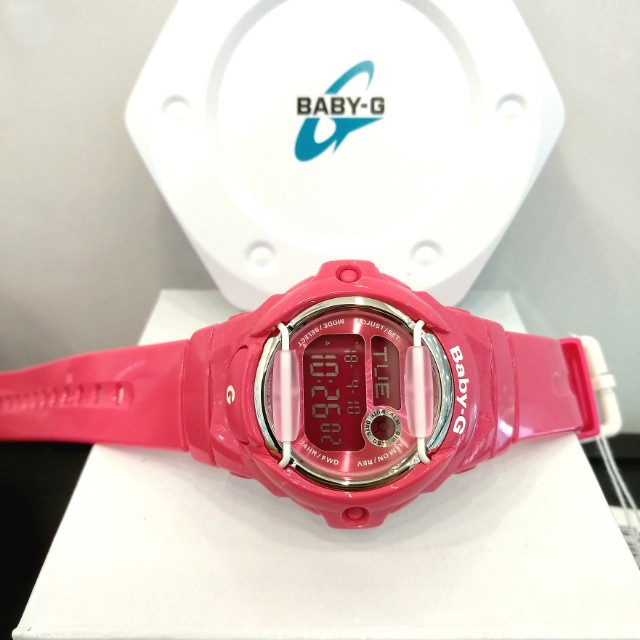 0d571010f0 * FREE DELIVERY * Brand New 100% Authentic Casio BabyG Pink Baby G Kids  Watch Baby-G