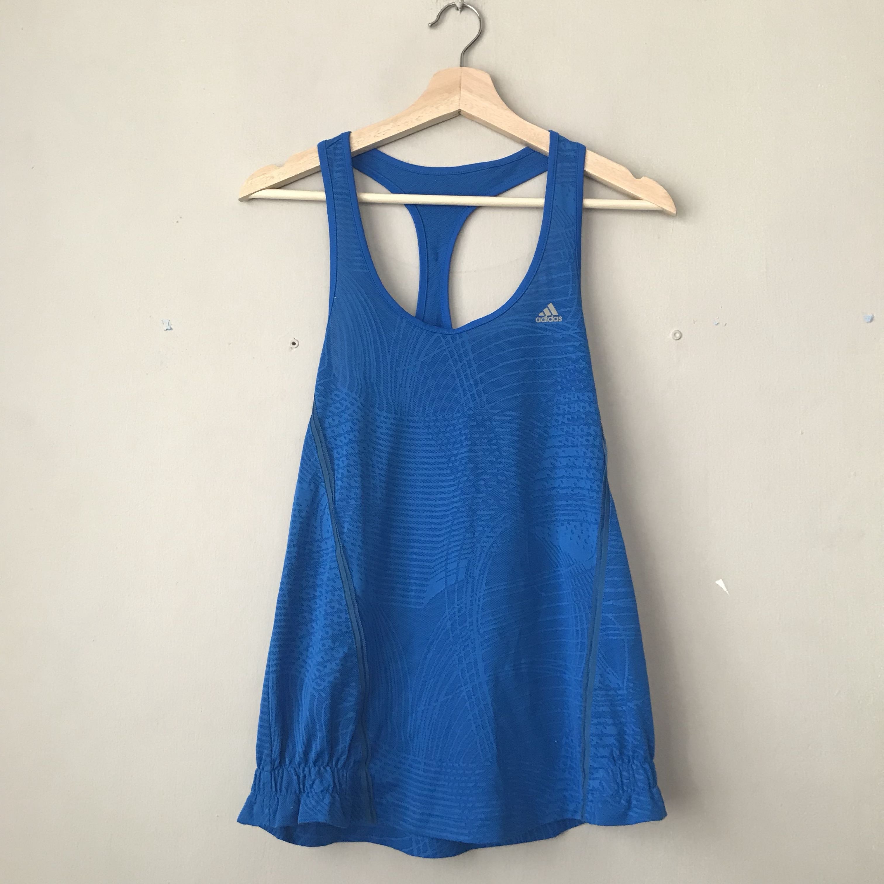 31b661ced4 ADIDAS royal blue dri-fit tank